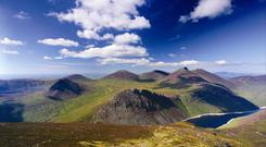 The Mourne Mountains were voted the best place to watch a sunrise/sunset as well as other awards