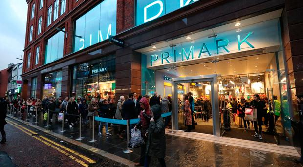 Primark store in Castle Street, Belfast city centre.