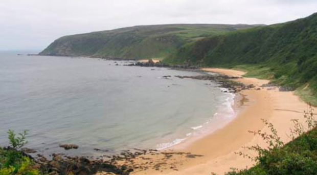 Kinnego Bay, where Dr O'Flaherty's car was found abandoned