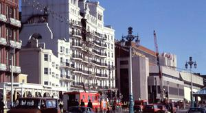 The IRA bomb exploded in the room above Margaret Thatcher's suite