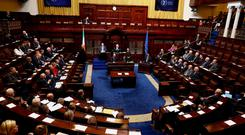 The Irish Parliament in Dublin is preparing to hold additional sittings in March as the UK is due to leave the EU (Maxwells/PA)