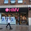 The HMV store in Belfast's Donegall Arcade