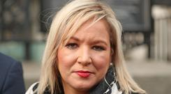 Sinn Fein deputy leader Michelle O'Neill says she warned Secretary of State Karen Bradley to listen to the public over Brexit (Niall Carson/PA Wire)