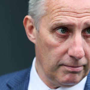 North Antrim MP Ian Paisley has been urged to reimburse the price of a first class plane ticket to New York which a charity covered. (Brian Lawless/PA)