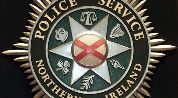 The Police Service of Northern Ireland unveil their new emblem and uniform in Belfast. The uniform and crest goes into service across Northern Ireland on April 5, the day the first recruits to the PSNI graduate, * with officers wearing a clearly displayed name badge rather than the police number currently worn. See PA Story ULSTER Uniform. PA Photo: Paul Faith.