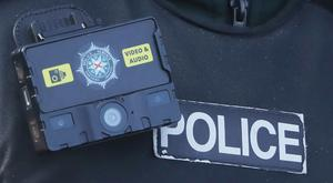 Two men were arrested by anti terrorism police officers investigating an armed robbery (Niall Carson/PA Wire)