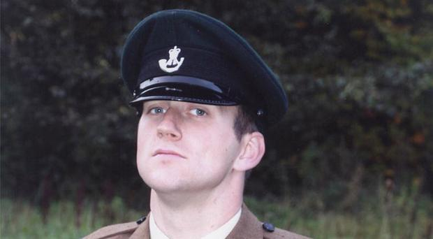 Lance Corporal James Ross was found dead at Ballykinler army base