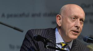 Peter Sheridan, chief executive of Co-Operation Ireland (Co-operation Ireland/PA)
