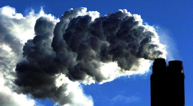 The case centres on the Irish Government's planned measures to tackle climate change (PA)