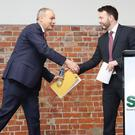 Opposition parties from both parts of Ireland have entered a partnership to restore public faith in politics, SDLP leader Colum Eastwood said (Nick Ansell/PA)
