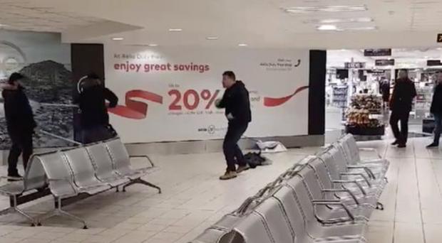 Police called to Belfast International 'altercation'