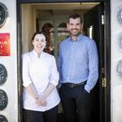 Danni Barry with Balloo Inns managing director and owner Ronan Sweeney