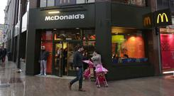 McDonald's at Donegall Place.