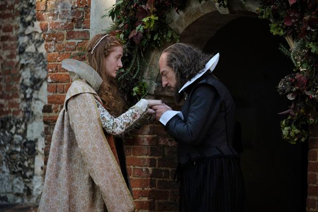 Branagh as William Shakespeare in his new film, All Is True