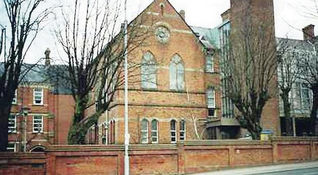 The former Nazareth House on the Ormeau Road in Belfast.