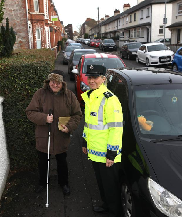 Inspector Rosemary Leech meets with Gerald Totton