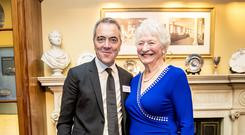 James Nesbitt and Dame Mary Peters