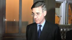 Jacob Rees-Mogg said it was 'highly unlikely' that Eurosceptic Tories would rebel (Rebecca Black/PA)