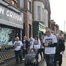 Activists with the Time For Truth campaign canvassed the Ormeau Road in south Belfast for mechanisms to deal with Northern Ireland's troubled past (PA)