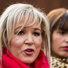 Sinn Fein deputy leader Michelle O'Neill has told supporters that it is time to make partition history. (Liam McBurney/PA)