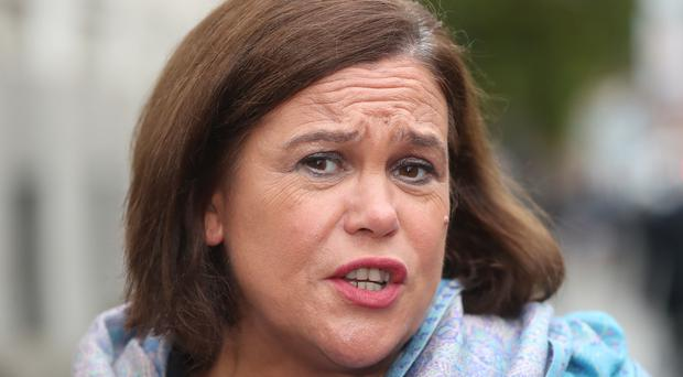 Sinn Fein leader Mary Lou McDonald is set to address a gathering of civic unionism. (Niall Carson/PA)