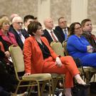 Arlene Foster at the DUP's spring conference in Omagh