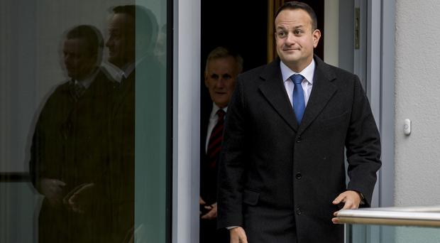 Leo Varadkar said 'no progress' was made in talks last week (Liam McBurney/PA)
