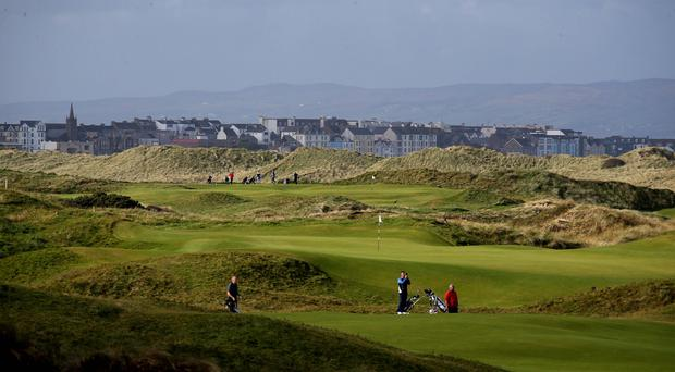 Royal Portrush will host The Open in July