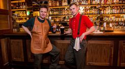 Sean Muldoon and Jack McGarry of The Dead Rabbit in New York