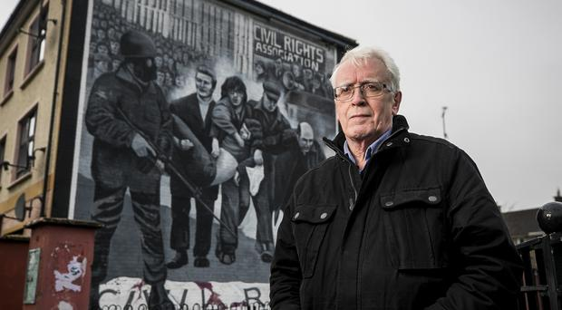 John Kelly, whose brother Michael was killed in Londonderry on Bloody Sunday (Liam McBurney/PA)