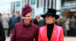 Zara Tindall and Chanelle McCoy