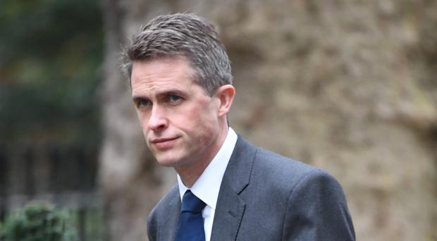 Defence Secretary Gavin Williamson said recently he was saddened that protection against 'spurious prosecutions' would not be given to service personnel in time for Thursday's proceedings in Londonderry (Stefan Rousseau/PA)