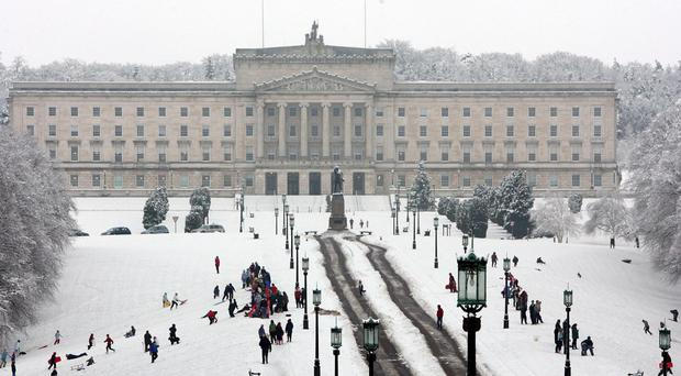 Snow is forcecast for Northern Ireland.