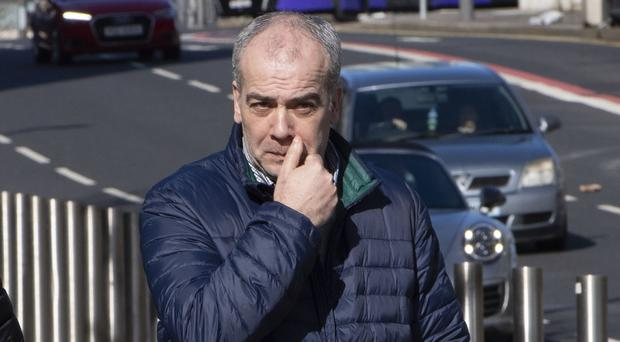 Colin Duffy who denies a number of charges relating to terrorism