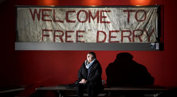 Jean Hegarty, whose brother Kevin McElhinney, 17, was shot dead on Bloody Sunday (Liam McBurney/PA)