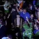 Michael Conlan's entrance at Madison Square Garden