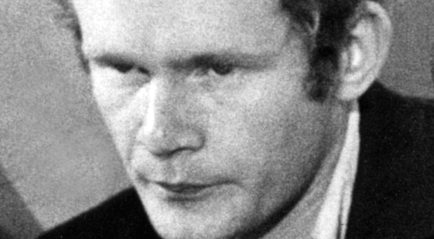 Martin McGuinness in 1971