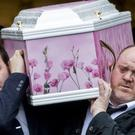 Lauren Bullock had a bright future cut tragically short, mourners at her funeral were told (Liam McBurney/PA)