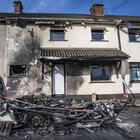 The scene of a fire in the Kildress Terrace area of Cookstown