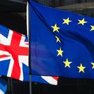 UK and European Union flags (Jonathan Brady/PA)