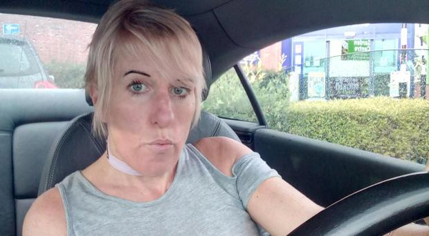 Samantha Gallagher said she considered driving to England to get her MOT test