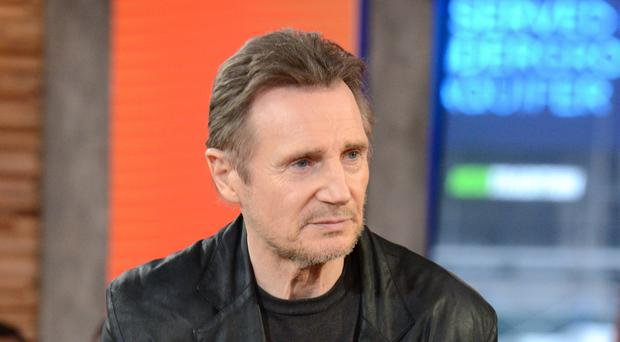 Liam Neeson on Good Morning America in February
