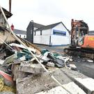The scene of the ATM theft in Ahoghill