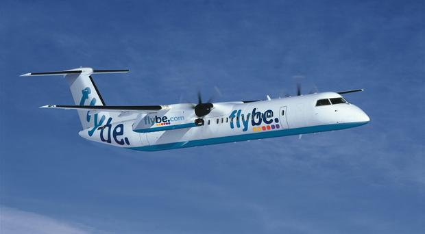 Flights to and from Belfast have been cancelled (Flybe/PA)