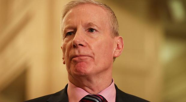 Gregory Campbell hit out at the Sinn Fein leader's comments. (Niall Carson/PA)