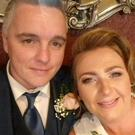Leona Morrow-McKittrick, from the Waterside in Derry, with her husband Mark