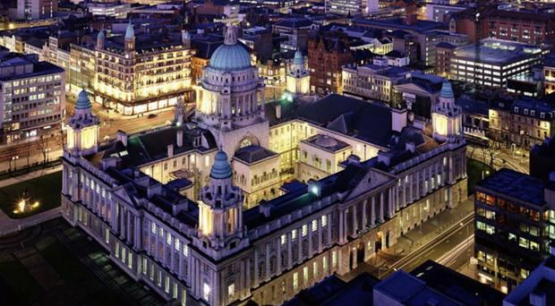Belfast City Council said the salaries for chief executives in the 11 local councils were set independently