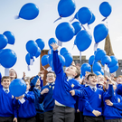 Pupils celebrate as the park named for Serenity Joubert