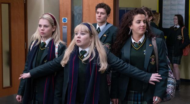 Stars of hit comedy series Derry Girls which is inspiring a new tourism drive