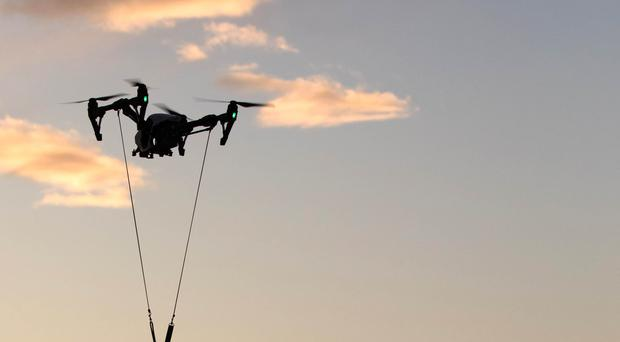Drones should be properly integrated into traditional aviation's mapping systems to avoid potentially deadly collisions, a standards expert said (David Parry/PA).